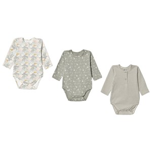 Image of Hust&Claire 3-pak Base Babybodyer Seagrass 56 cm (1-2 mdr) (1653542)