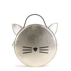 Karl Lagerfeld Kids Choupette Crossbody Bag Gold
