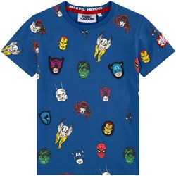 Fabric Flavours Marvel Character Repeat Print Tee