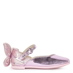 Sophia Webster Mini Chiara Embroidered Butterfly Shoes Pink