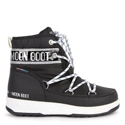 Moon Boot Snow Moon Boots Black and Silver