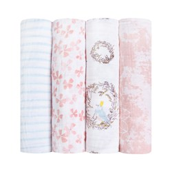 Aden + Anais Birdsong Swaddles (4 Pack)