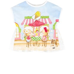 Mayoral Little Mice Graphic Scene T-shirt