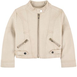 Mayoral Beige Pleather Jacket