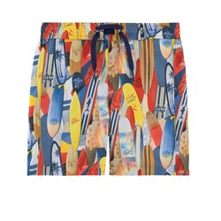 Mayoral Surfboard Printed Swim Shorts Multi