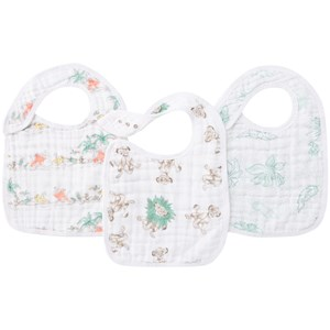 Image of Aden + Anais 3-Pack Classic Snack Bibs Lion King One Size (1047604)