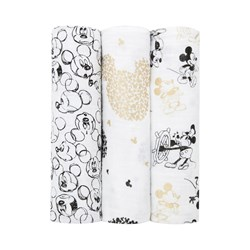 Aden + Anais 3-Pack Mickey's 90th Classic Swaddles