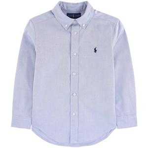 Image of Ralph Lauren Blue Oxford Shirt with PP 10 years (1098718)