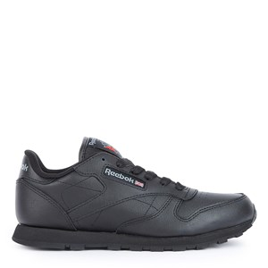 Image of Reebok Black Classic Leather Sneakers 27 (UK 10) (1177479)