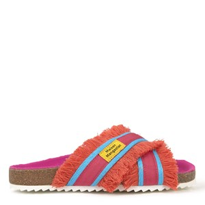Image of Maison Mangostan Lulo Badesandaler Orange/Pink 32 (UK 13) (1559328)