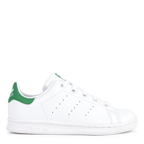 White and Green Stan Smith Trainers