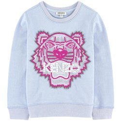 Kenzo Blue Beaded and Embroidered Tiger Sweatshirt