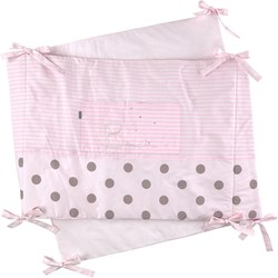 Absorba Bed Bumper Pink