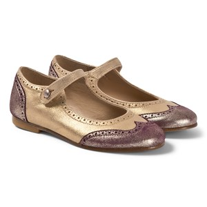 Image of Bonpoint Brogue Ballerina sko Gold 31 (UK 13) (1651321)