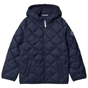 Image of GANT Diamond Hooded Dunjakke Navyblå 146-152cm (11-12 years) (1595634)