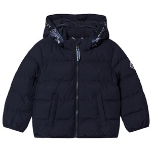 Image of GANT Tape Logo Dunjakke Navyblå 98-104cm (3-4 years) (1596002)