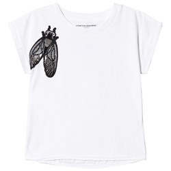 How To Kiss A Frog Bee Print T Cut T-Shirt White