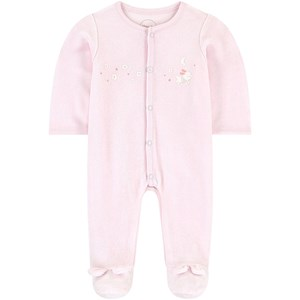 Image of Absorba Velour Printed Dragt Lys pink 1 month (1623256)