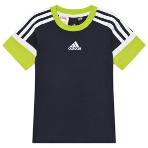 Image of adidas Performance 3 Stripes T-shirt Legend Ink 9-10 years (140 cm) (1586821)