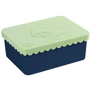 Image of Blafre Lunch box Fox, 1 compartment, Light green/Navy One Size (1672909)