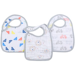 Image of Aden + Anais 3 Pack Classic Leader Of The Pack Snap Bibs One Size (726075)