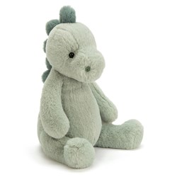 Jellycat Puffles Dino Soft Toy Green