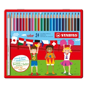 Image of STABILO Color 24-pack Metal Tin 9+ years (1673896)