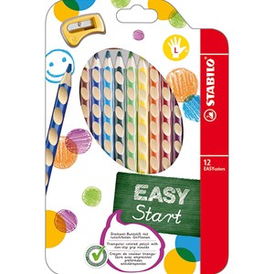 Image of STABILO EASY colors 12-pack Left-Handed 9+ years (1673897)