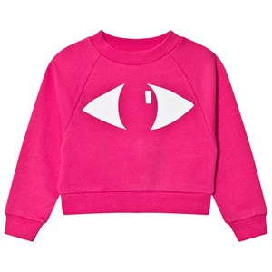 Image of WAWA Eye Sweatshirt Lyserød 2-3 år (1610233)