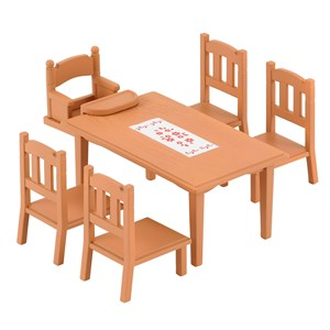 Image of Sylvanian Families Family Table & Chairs Play Sæt 3 - 11 år (1696055)