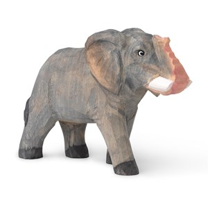 Image of ferm LIVING Animal Hand-carved Elephant 3 - 10 years (1673469)