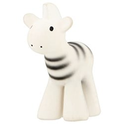 Tikiri My 1st Safari – Zebra Natural Rubber Bath Toy