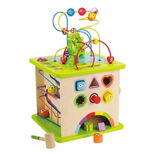 Image of Hape Country Critters Play Cube One Size (782034)