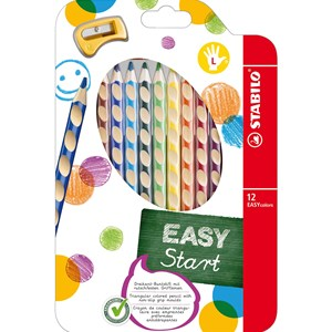 Image of STABILO EASY colors 12-pack Right-Handed 9+ years (1673898)