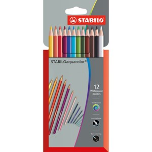 Image of STABILO Aquacolor 12-pack 6+ years (1780080)