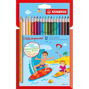 Image of STABILO Aquacolor 18-pack 9+ years (1673884)