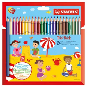 Image of STABILO Trio Thick 24-pack 9 - 24 mdr. (1673929)