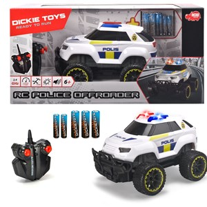 Image of Dickie Toys RC Offroader Politibil 6 - 10 years (1617915)