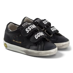 Golden Goose Star Old School Leather Sneakers Black