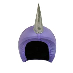 Coolcasc Unicorn Helmet Cover Purple
