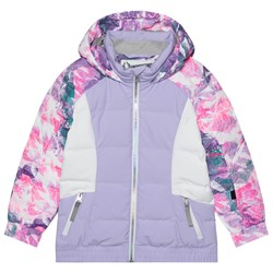 Spyder Atlas Colorblock Ski Jacket Purple
