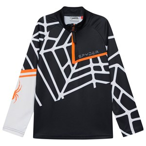 Image of Spyder Hideout Base Layer Lynlås Sweater Sort L (14-16 years) (1601154)