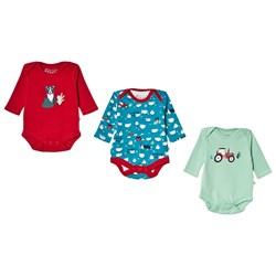 Frugi 3-Pack Super Special Baby Body Tractor