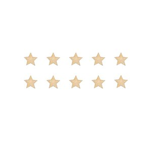 Image of Stickstay Stars dusty gold SMALL One Size (1673678)
