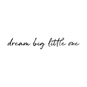 Image of Stickstay Dream big little one BLACK One Size (1673682)