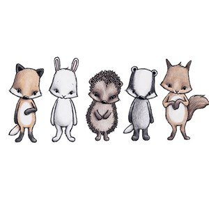 Image of Stickstay Forest friends (All 5) One Size (1673665)