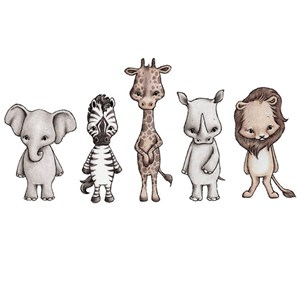 Image of Stickstay Savannah friends (All 5) One Size (1673667)