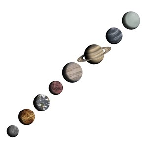 Image of Stickstay Solarsystem (8 planets) One Size (1673672)