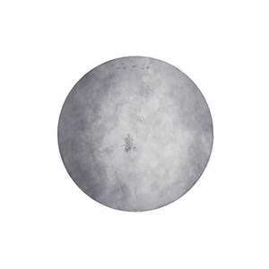 Image of Stickstay Moon grey One Size (1673675)