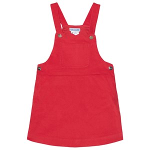 Image of Jacadi Red Dungaree Dress 4 år (1666185)